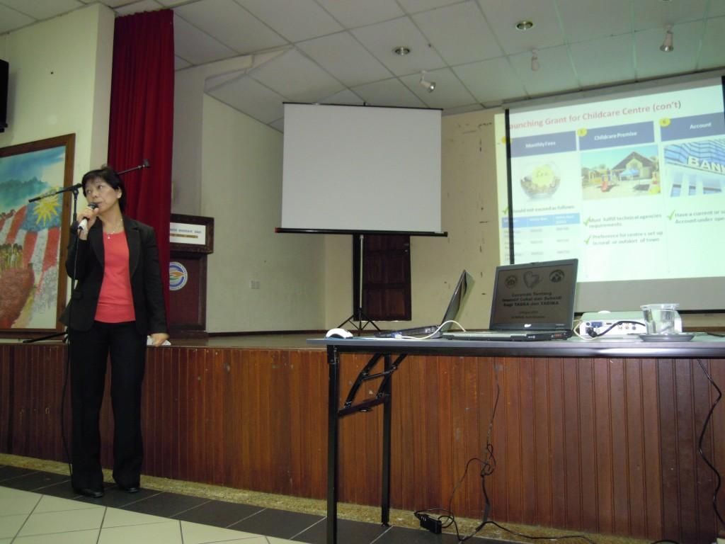 2. Ms F.I. Liew Presenting