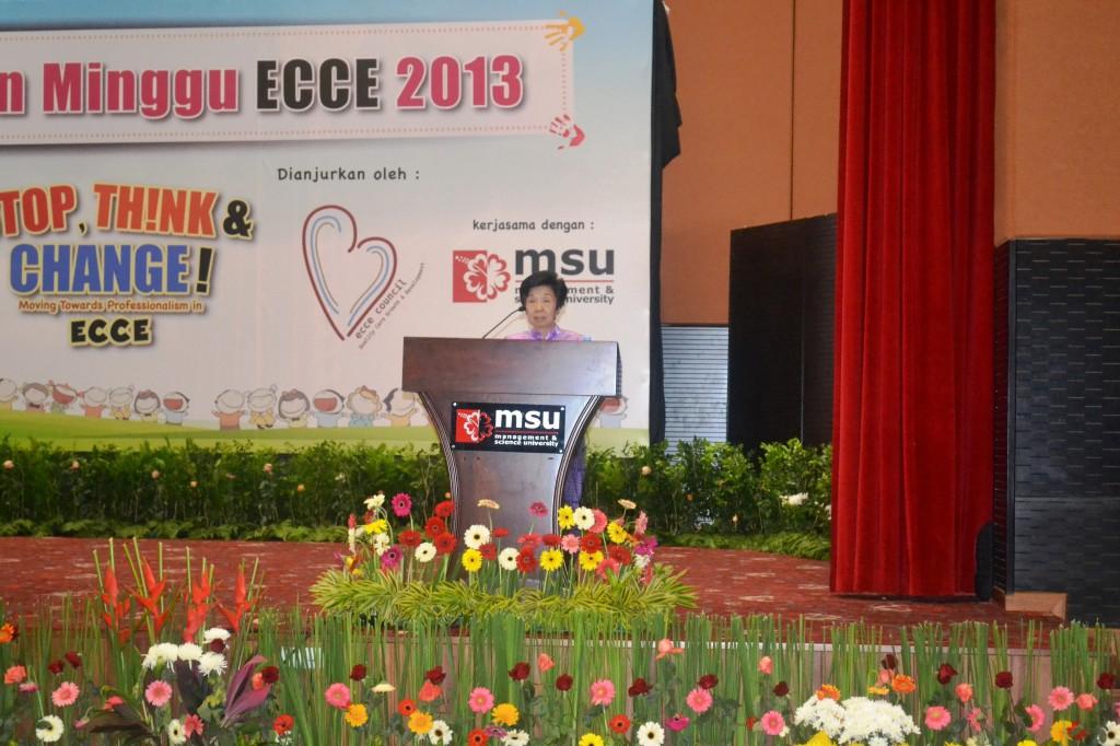 3. President Presenting Welcoming Address