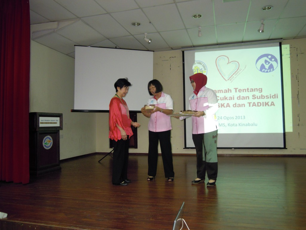 4. PPTSabah Token Appreciation ECCE Council President