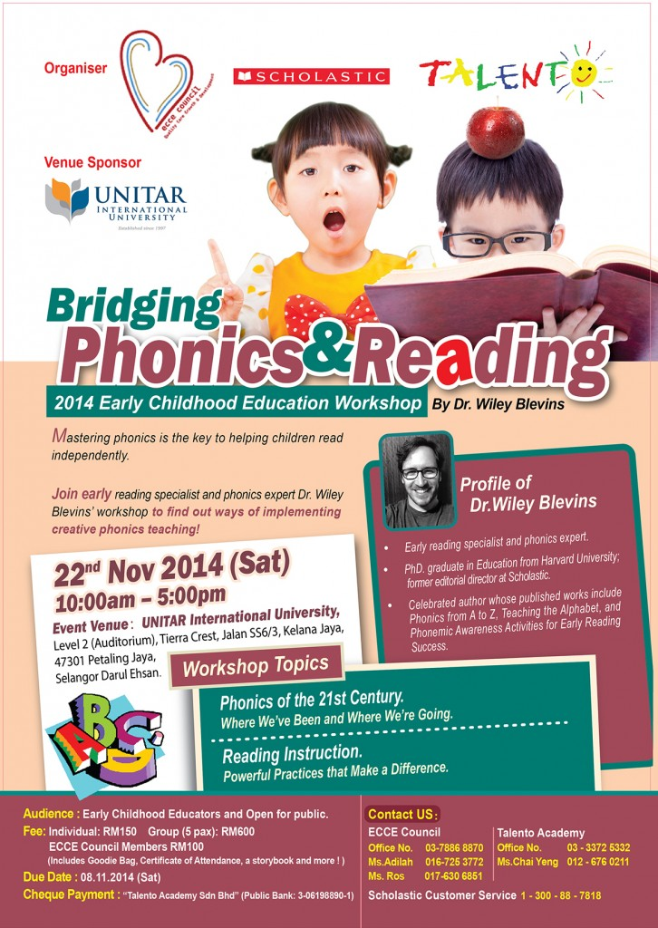 Special Discount for ECCE Council Members! Only RM 100 per person!