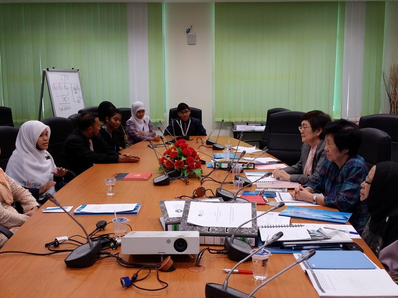 3. Panel meeting students